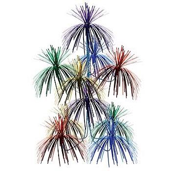 Rainbow Firework Chandelier