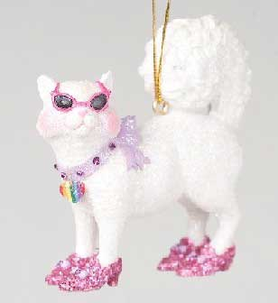 Miss Purrfection Ornament