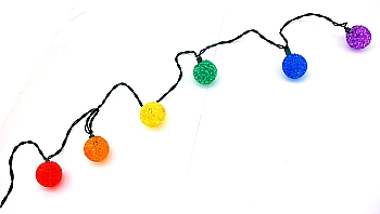 Rainbow Ball String Lamps