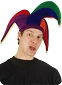 Rainbow Court Jester Hat