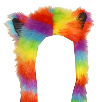 Rainbow Animal Hat