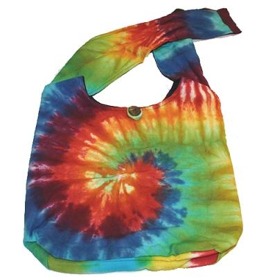Rainbow Tie Dye Shoulder Bag