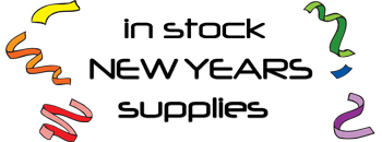 New Years Supplies in Stock