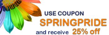 Spring Savings @ RainbowDepot.com