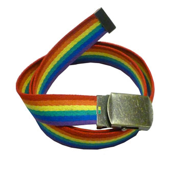 Rainbow Cotton Belt