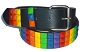 Rainbow Stud Black Belt