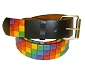 Rainbow Stud Black Belt Large