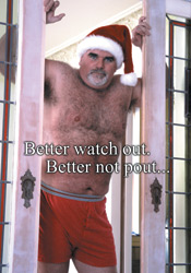 Santa's Brother Holiday Cards