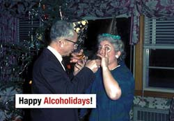 Happy Alcoholidays Boxed Holiday Cards