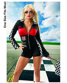 1 pc racer girl