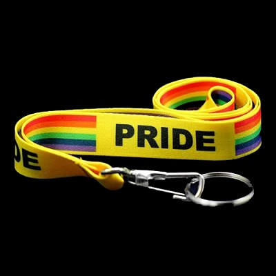 Pride Rainbow Lanyards