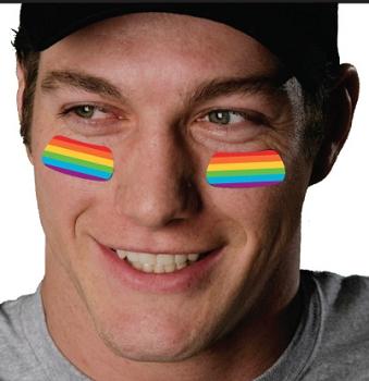 Rainbow EyeBlack