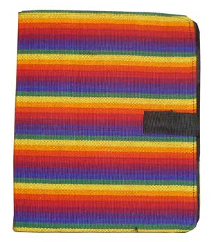 Woven Rainbow iPad Cover