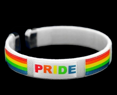 PRIDE Rainbow Bangle Bracelet