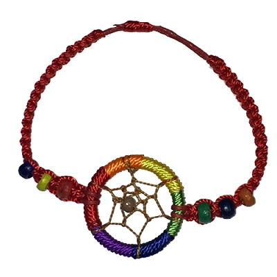 Rainbow Dream Catcher Bracelet