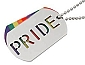 PRIDE Necklace ID Tag