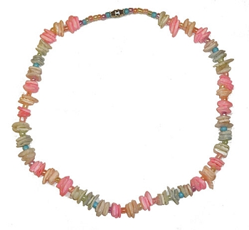 Trans Pride Shell Necklace