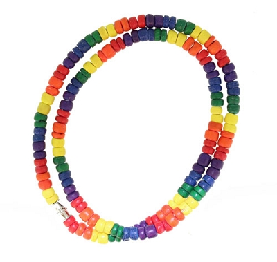 Rainbow Bead Necklace / Bracelet