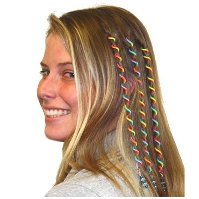 Rainbow Hair Twist Ties