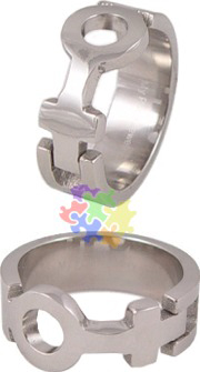 Female Venus Puzzle Ring
