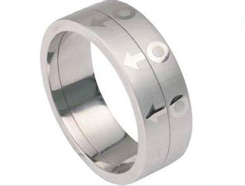 Male Spinner Ring