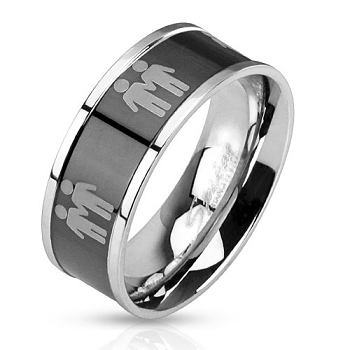 Double Male Gay Ring