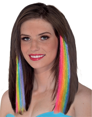 Rainbow Hair Extension