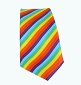 Rainbow Necktie (diagonal stripe)