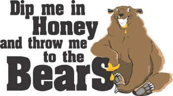 Dip Me In Honey - Bears Key Chain