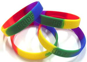 Rainbow Pride Wristband