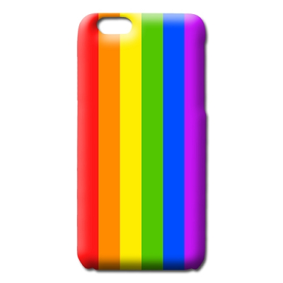 Rainbow Pride iPhone Slim Case