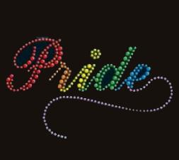 Rainbow PRIDE Rhinestone Shirt