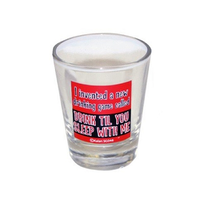 I Invented a New Drinking Game Called ...  Shot Glass