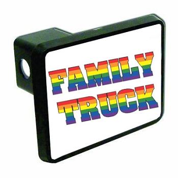 Family Truck Hitch Cover