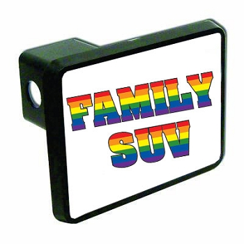 Family SUV Hitch Cover