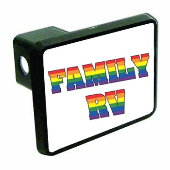 Family RV Hitch Cover