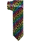 Rainbow Cheetah Neck Tie