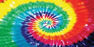 Rainbow Tie Dye Towel