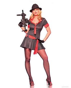 2 pc gangsta girl dress