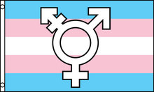 Transgender Flag (with symbol)