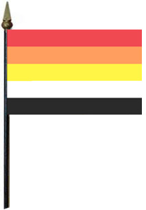 Lithsexual Flag on Stick