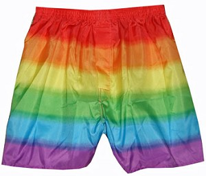 Rainbow Boxer Shorts