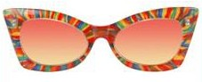 Cheetah Rainbow Sunglasses