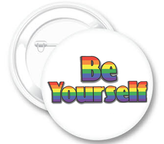 Be Yourself Button