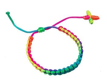 Rainbow Neon Bracelet