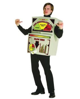 Blow Here! Breathalyzer Machine Costume