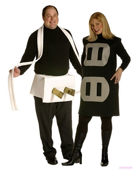 Plug & Socket Couples Costume