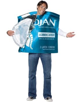 Condom Foil Pack Costume