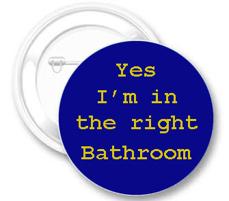 Right Bathroom Button