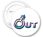 OUT Trans Pride Button